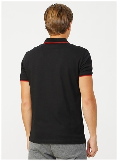 U.S. Polo Assn. U.S. Polo Assn. Slim Fit Erkek T-Shirt Siyah